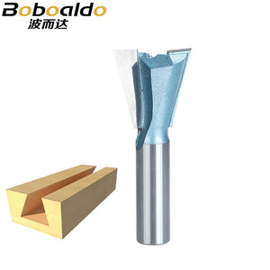 1pcs 1/2 1/4 Shank Industrial Grade Wood Cutter Dovetail Router Bits for wood Tungsten Engraving Tool Milling Cutter