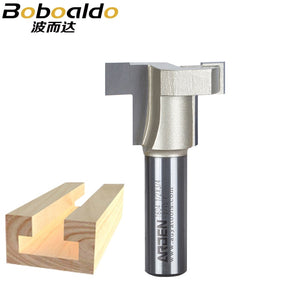 1pcs 1/2 SHK Fresas Para Router Straight T-Slot T-Track Arden Router bit T Track Staight Bits Keyhole Bits Wood Cutters