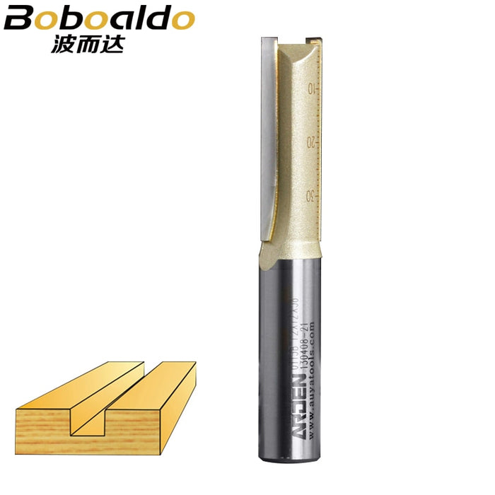 1pcs 1/2 3Deg Flute Straight Bits Arden Router Bit Woodworking Tools Router Bit for Wood Tungsten Carbide endmill milling cutter