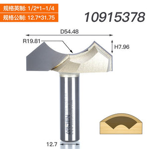 1/4 1/2 Shank Dragon Ball Bit Point Cut Round Over Groove Bits Arden Router Bits For Wood Engraving Cutter Woodworking