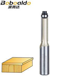 1/4 1/2 Shank Flush Trim Router Bits For Wood Trimming Cutters Bearing Woodworking Tool Endmill Milling Cutter Arden Router Bit