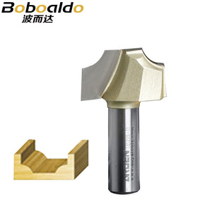 1pcs 1/2 Two flutes beading cutter round over and ovolo cut CNC engraving cutter cutting the wood Arden router tool fresa