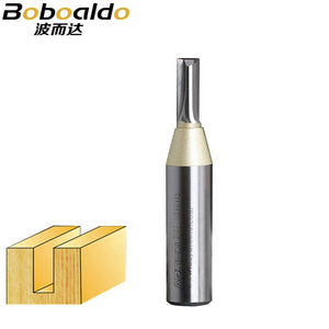 1/2 Shank TCT Two Flutes Straight Bits Solid Carbide Insert Straight Cutters Tungsten Carbide CNC Cutter Arden Router Bit 10107