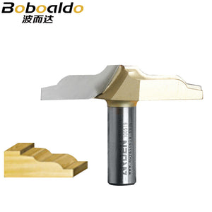 1pc 1/2 Shank Trimmer Router Bits For Wood Tungsten Carbide Arden Woodworking Engraving Endmill Tools For Hard Wood MDF