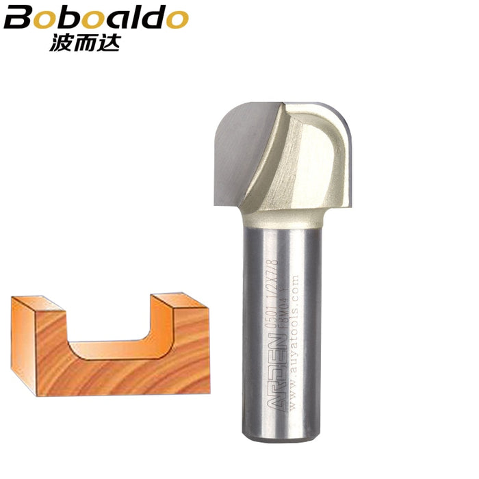 1/2 Shank Bowl Tray Bits Template Router Bit endmill Woodworking Cutting Tool wood milling cutter Arden Router Bit