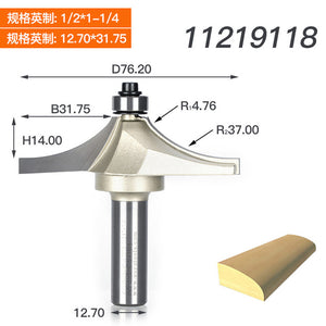 1/2 Shank Router Bits For Wood Tungsten Carbide Cutter Bit Arden Table Edge Router Bit Prrofessional Grade Woodworking Tools