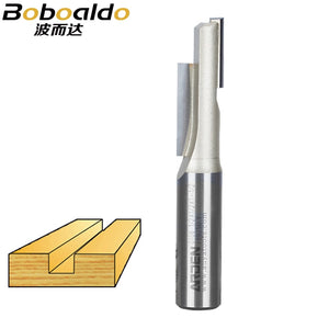 1pcs Slotted open - tooth milling cutter Straight Bit Woodworking Tools Arden Router Bit 1/2*1/2*1-1/2 1/2 Shank