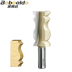 "1pcs Woodworking tool Crown Molding Bits Fish Style Arden Router Bit - 1/2*1-1/4 - 31.75 mm "" Shank - Arden A1010098"