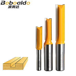 1pcs 1/4 1/2 Shank 2 flute straight bit Woodworking Tools Router Bit for Wood endmill milling cutter solid wood Special-purpose