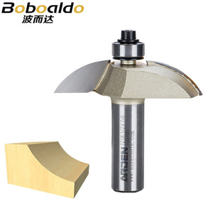 "1pcs Two flute cutters with 1/2"" guide bearing to produce a straight panel raise Raised Panel Bits-Cove Arden Router Bit"