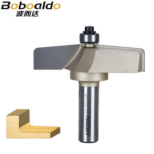 1pcs 1/2 Shank Stile & Panel Router Bits Solid Tungsten Steel Carbide Slotted Woodworking Tools Arden Router Bit