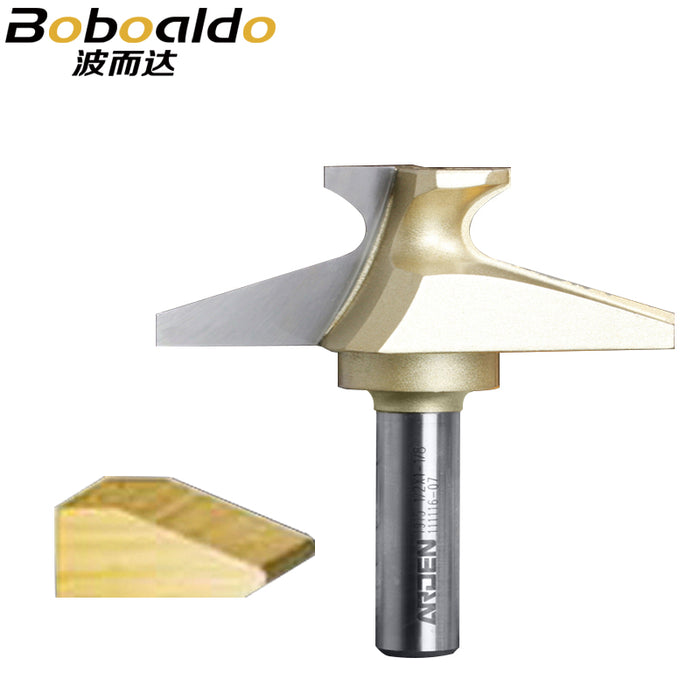 1PCS 1/2 Double Finger Arden Router Bit Woodworking Tools two Flute Router Bits for wood cutting the wood router tool
