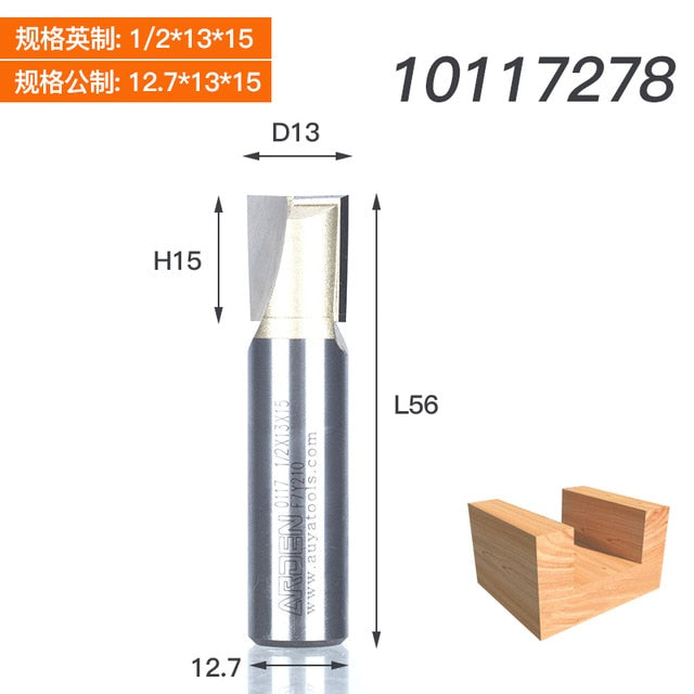 C 2 high quality CNC router bottom cleaning bits 6mm 22mm  quantity