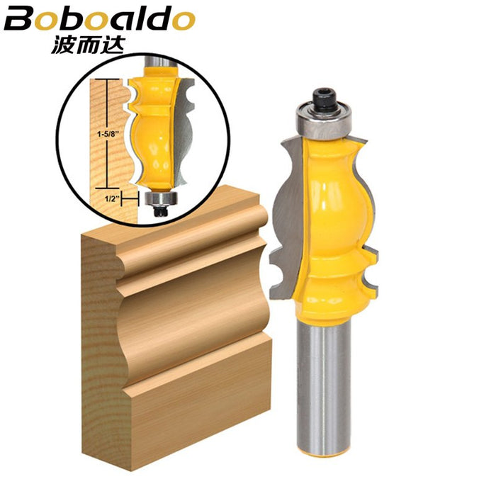 1pcs Architectural Molding Router Bit 12.7mm shank
