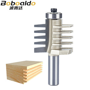 "1pc 1/2"" Shank Router Bits For Wood Woodworking Tool Semicircle Mortise Stitching Knife Floor CNC Bevel Gear Cutter"