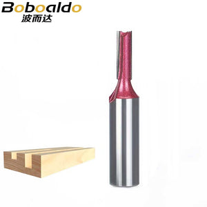 1pcs 1/4 1/2 Shank Industrial Grade straight bit Woodworking Tools Router Bit for Wood Tungsten endmill milling cutter