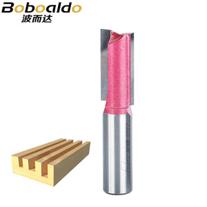 1pc 1/2 1/4 shk straight bit Woodworking Tools Tungsten Router Bit for Wood Carbide endmill milling cutter wood cutter