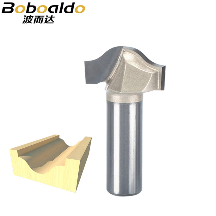 1pc Trim router bit 1/2 1/4 Shank Woodworking Tools Trimming Cutters woodworking tool endmill milling cutter