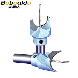 1pc 10mm Shank Hard Tungsten Steel Alloy Coated Cutter Drill Bit Tools Cemented Carbide Spherical Buddha Bead Woodworking
