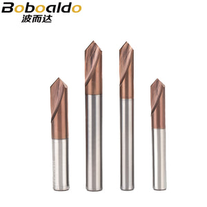 1PC 90 Degree Center Drill Tungsten Carbide Point Drill Centering Positioning Drill 45 Degree Angle Tool Chamfer Drill