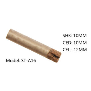 1PC 6/8/10mm shank shipping Brazing stone engraving bits marble carving tools CNC router bits for granite