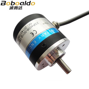 ABZ Three-phase 5-24V 1000-2500 S3806 Pulses Incremental Optical Rotary Encoder speed positioning Automatic control