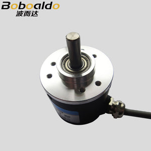AB Two-phase 5-24V 400-600 Pulses Incremental Optical Rotary Encoder speed positioning Automatic control