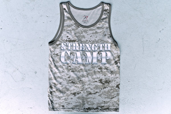 Strength Camp Desert Camo Tank