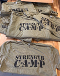 Green Strength Camp T-Shirt