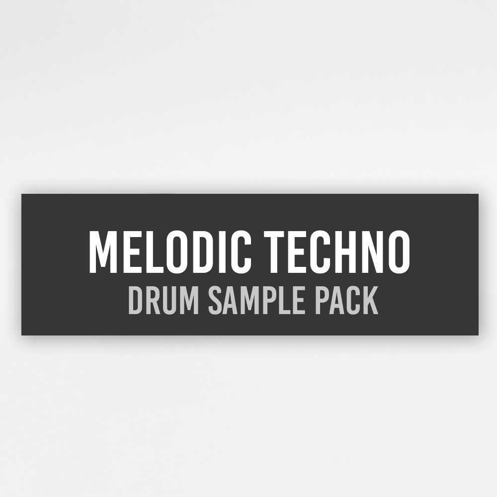 Melodic Techno Drum Sample Pack Vol  1