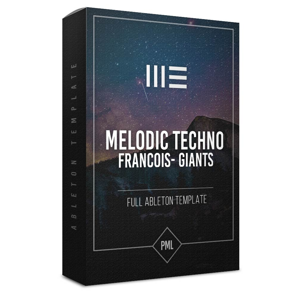 Melodic Techno Giant - Ableton Template
