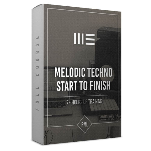 Course: Melodic Techno Track from Start To Finish