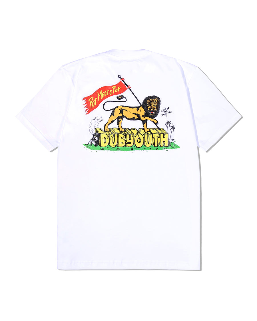 PMP X DUBYOUTH TEE WHITE LION