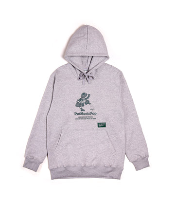 GROWN PEACE HOODIE GREY