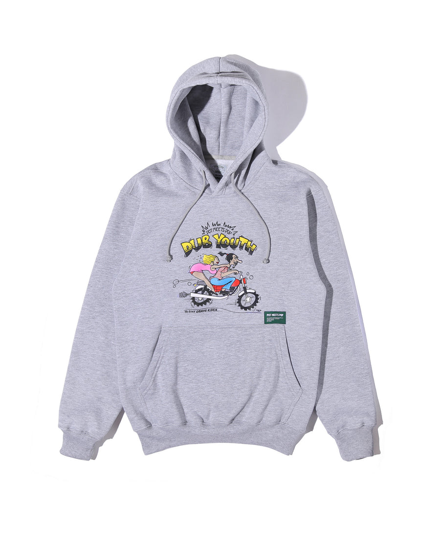 PMP X DUBYOUTH HOODIE MISTY