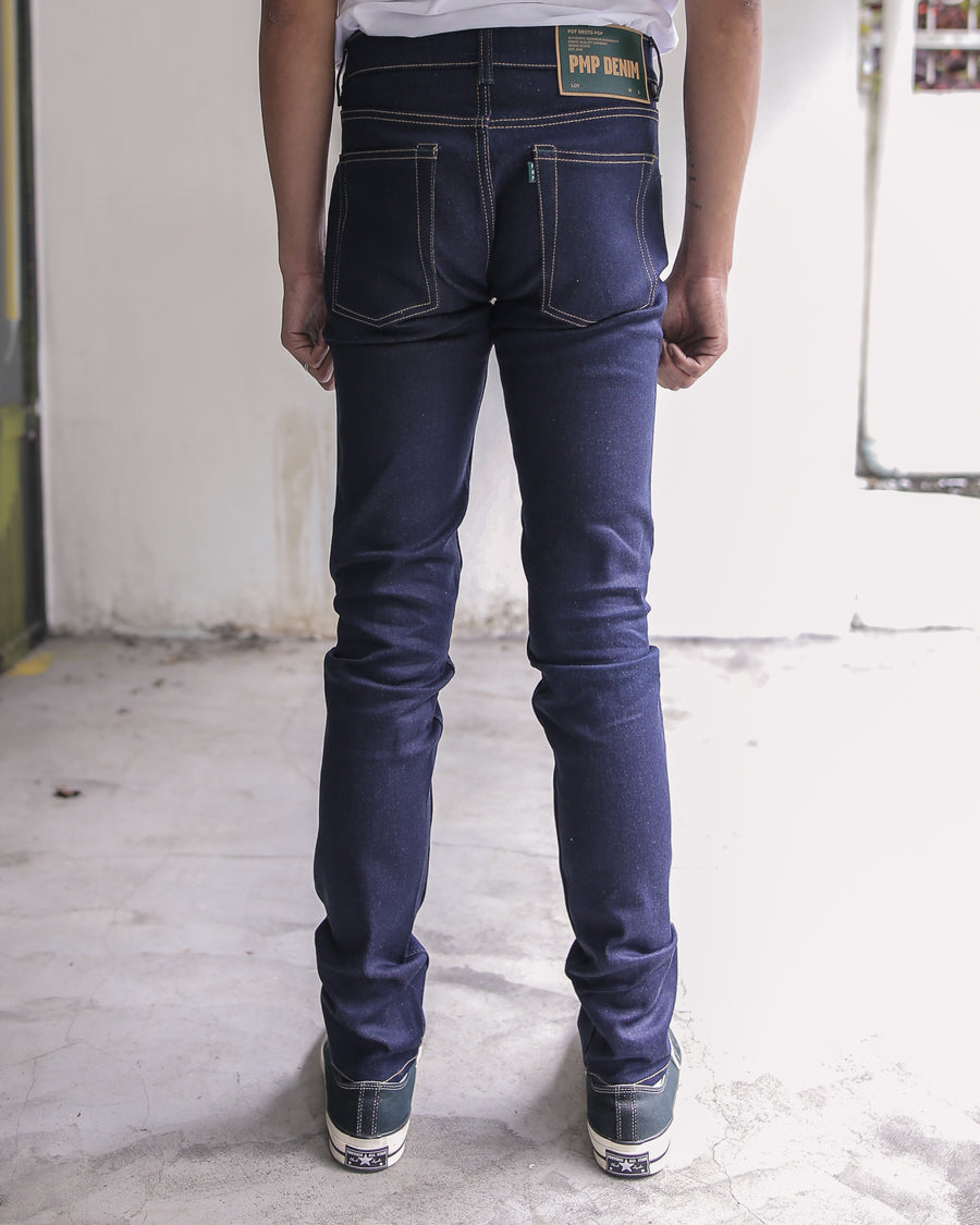 AFGHANI DARK BLUE STRETCH