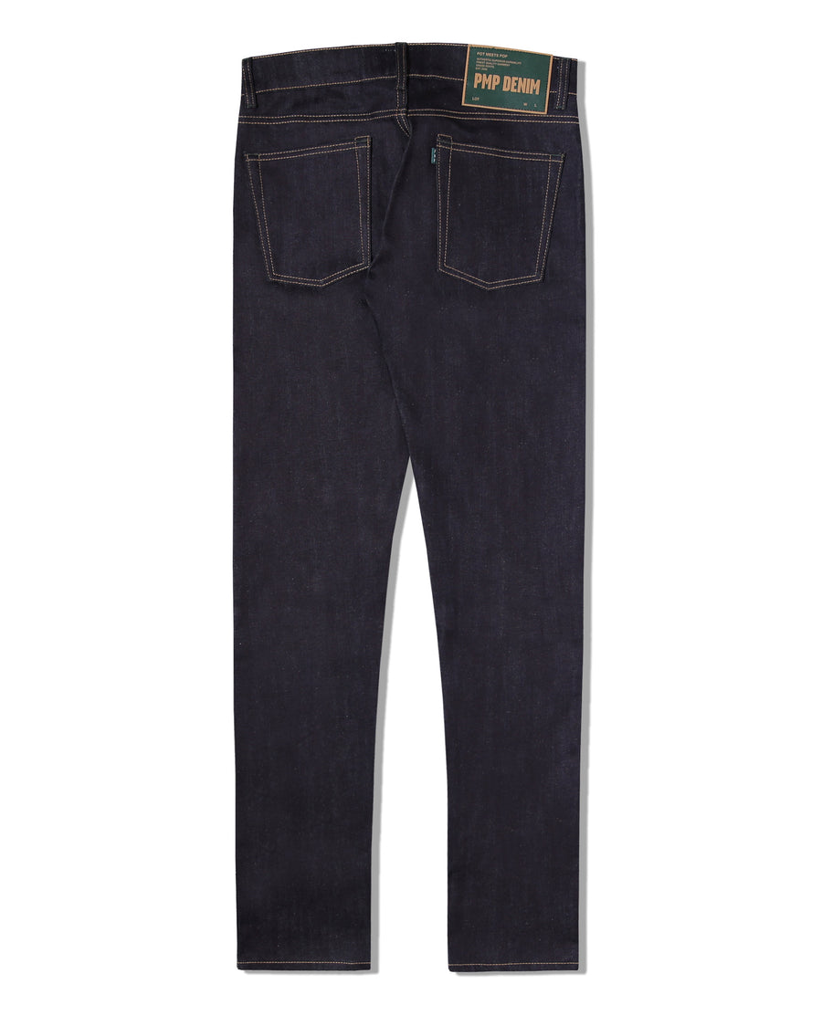 AFGHANI DEEP INDIGO STRETCH