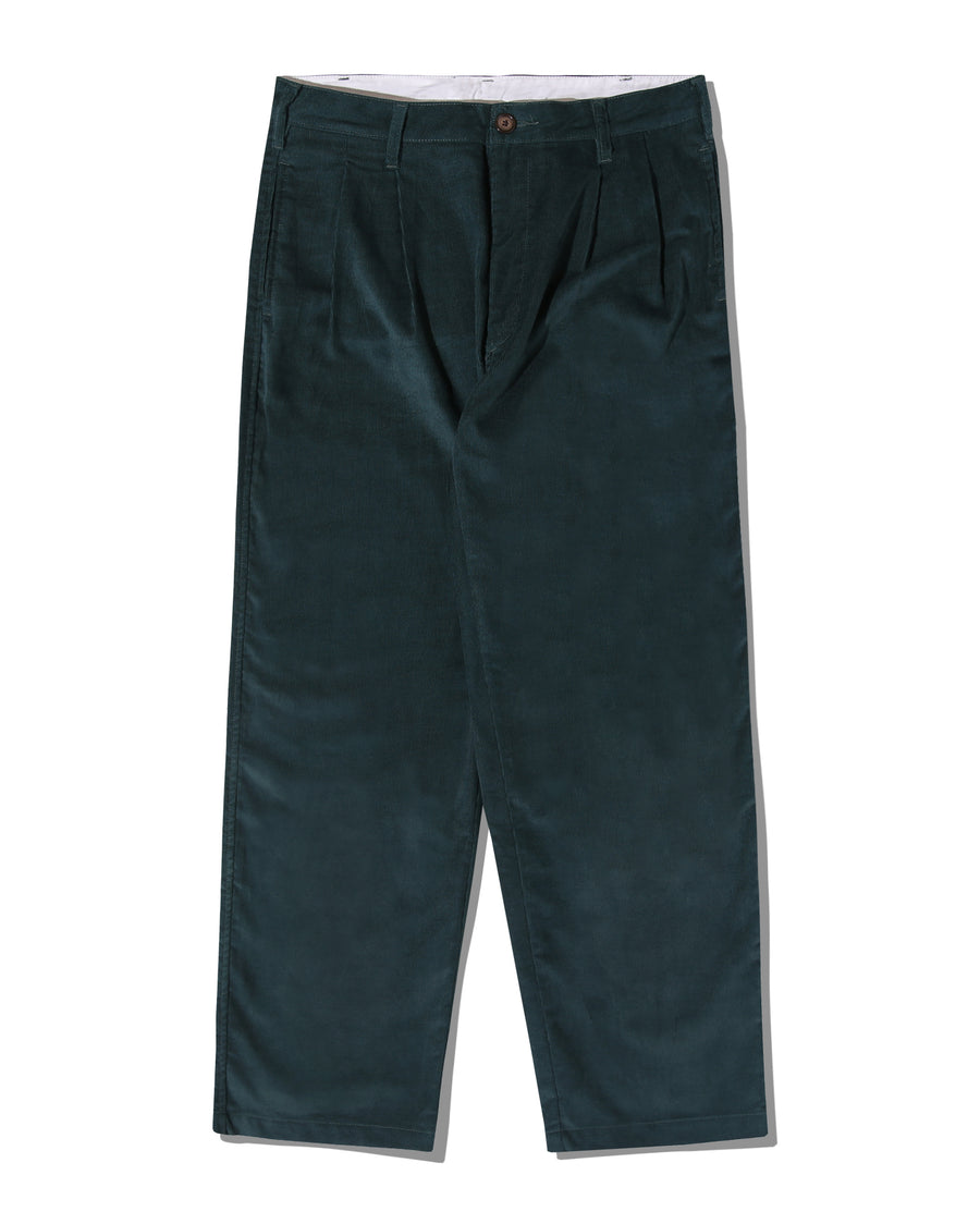 CONE CELL-PHONE POCKET TROUSER FOREST GREEN CORDUROY F/W 20