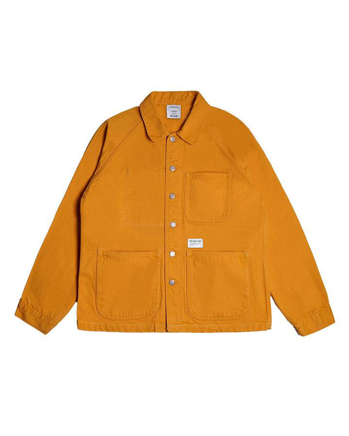 CRUTCH CHORE COAT YELLOW S/S 19