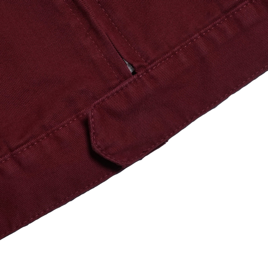 HERER WORK JACKET MAROON S/S 19