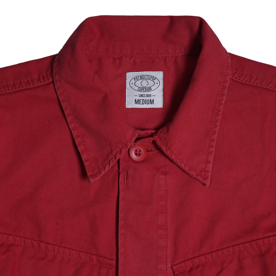 OZ ARMY SLANTED POCKET RED S/S 19