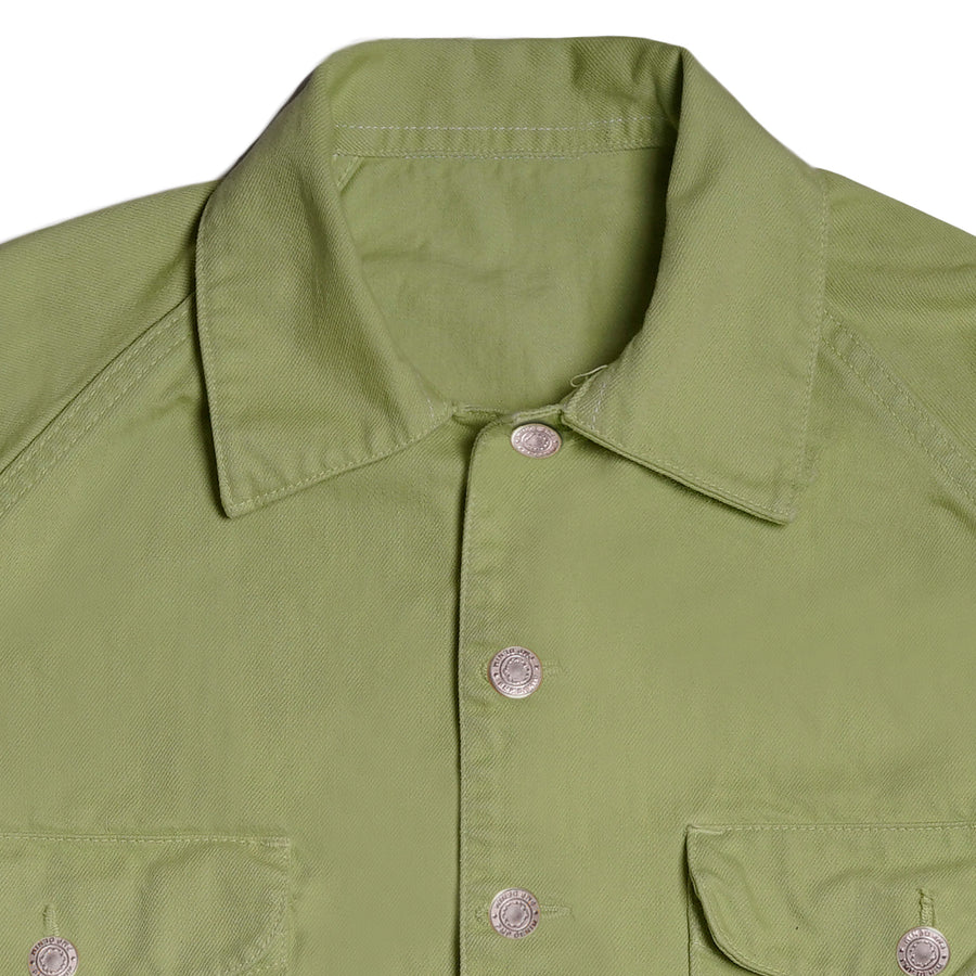 FATTY FATIGUE JACKET LIME GREEN S/S 19