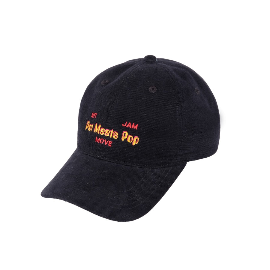HIT MOVE JAM DAD CAP BLACK F/W 19