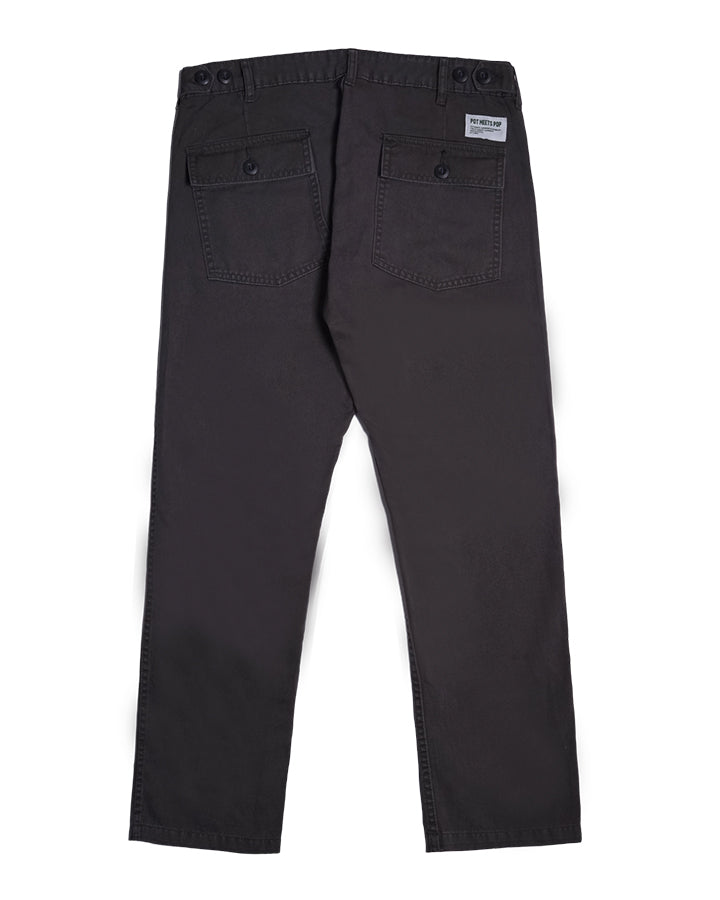 FATTY FATIGUE PANT CHARCOAL S/S 19