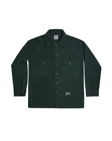 FATTY FATIGUE JACKET GREEN S/S 19