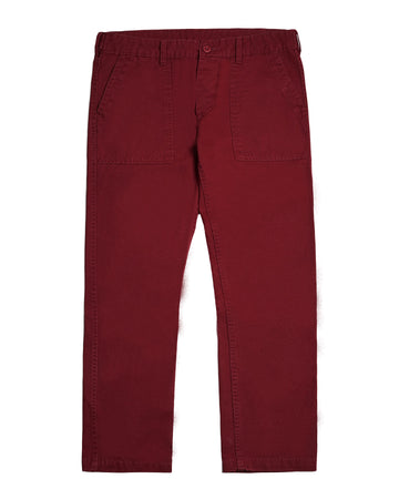 FATTY FATIGUE PANT MAROON S/S 19