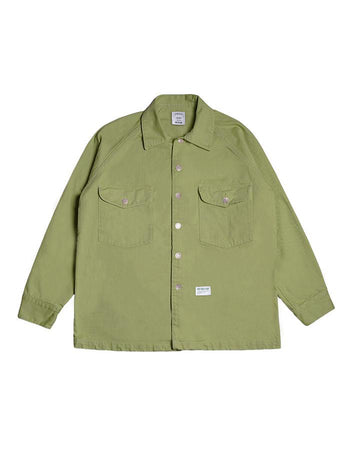 FATTY FATIGUE JACKET LIME GREEN