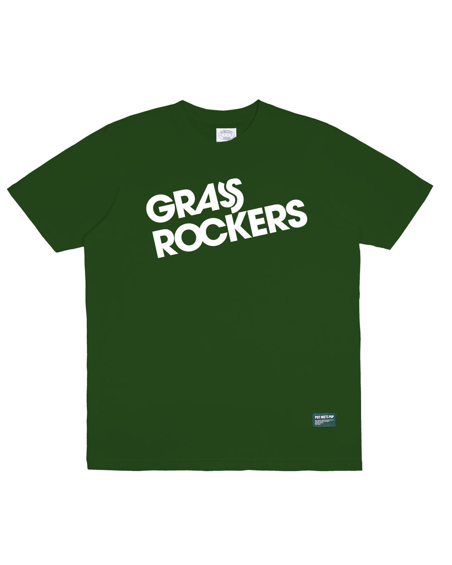 GRASS ROCKERS TEE GREEN F/W 20