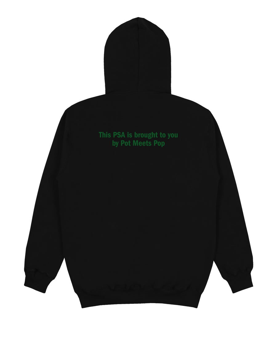 KEEP OFF THE GRASS HOODIE BLACK F/W 19