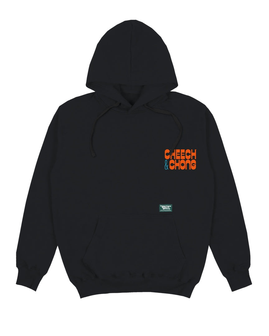POT MEETS POP / CHEECH AND CHONG - STILL SMOKIN HOODIE BLACK